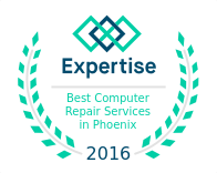 Expertise Award - Best Computer Repair Service in Phoenix, AZ 2016